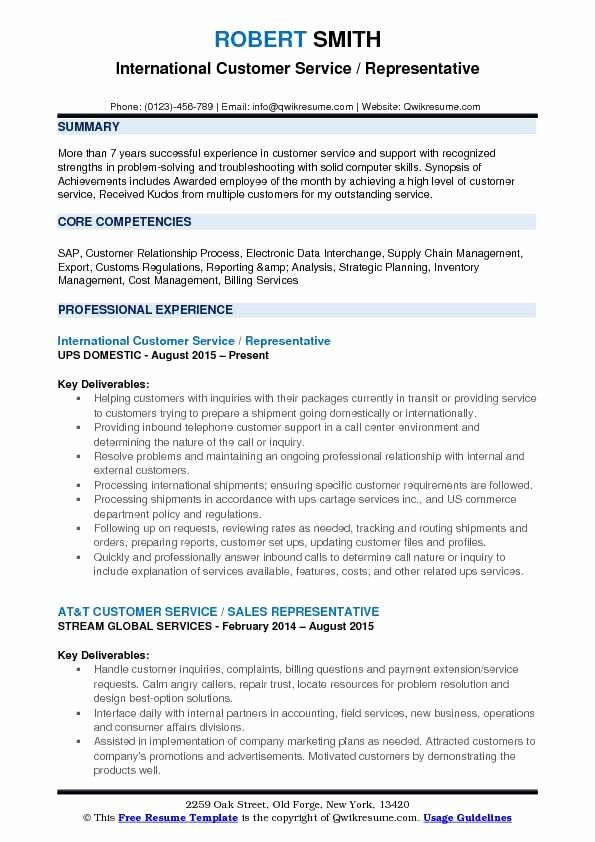 guest service representative resume new customer samples examples and tips job registered Resume Sap Customer Service Resume