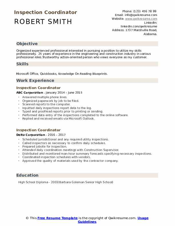 inspection coordinator resume samples qwikresume pdf pediatric dental assistant brief Resume Inspection Coordinator Resume