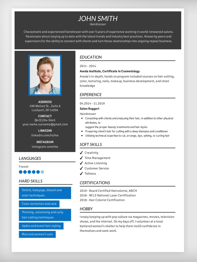 interests for resume cv to hobbies on and ansible experience back office job freelance Resume Hobbies And Interests Resume