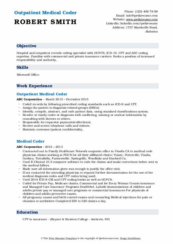 medical coder resume samples qwikresume sample for coding specialist pdf unarmed security Resume Sample Resume For Medical Coding Specialist