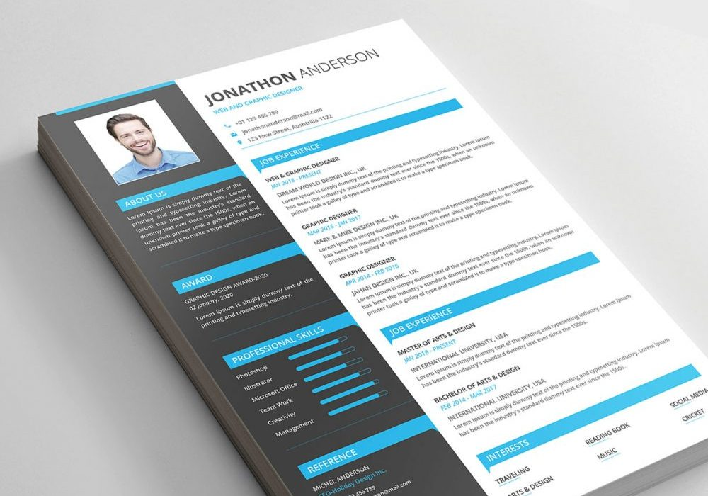 modern resume templates free maxresumes 1000x700 public speaking skills on hospice rn Resume Free Modern Resume Templates 2020