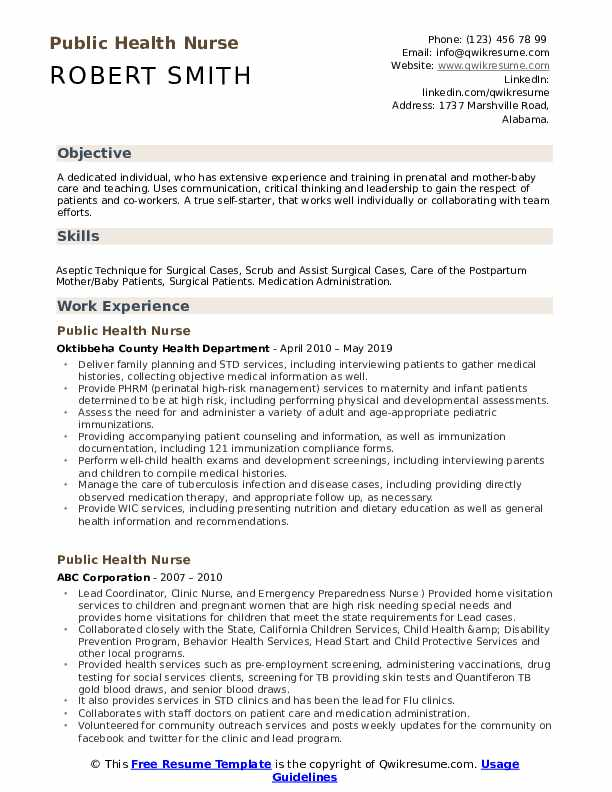 public health nurse resume samples qwikresume sample pdf enrollment counselor army Resume Public Health Resume Sample