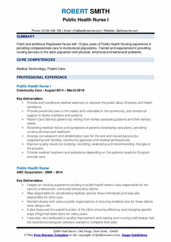 public health nurse resume samples qwikresume sample pdf technical services business Resume Public Health Resume Sample