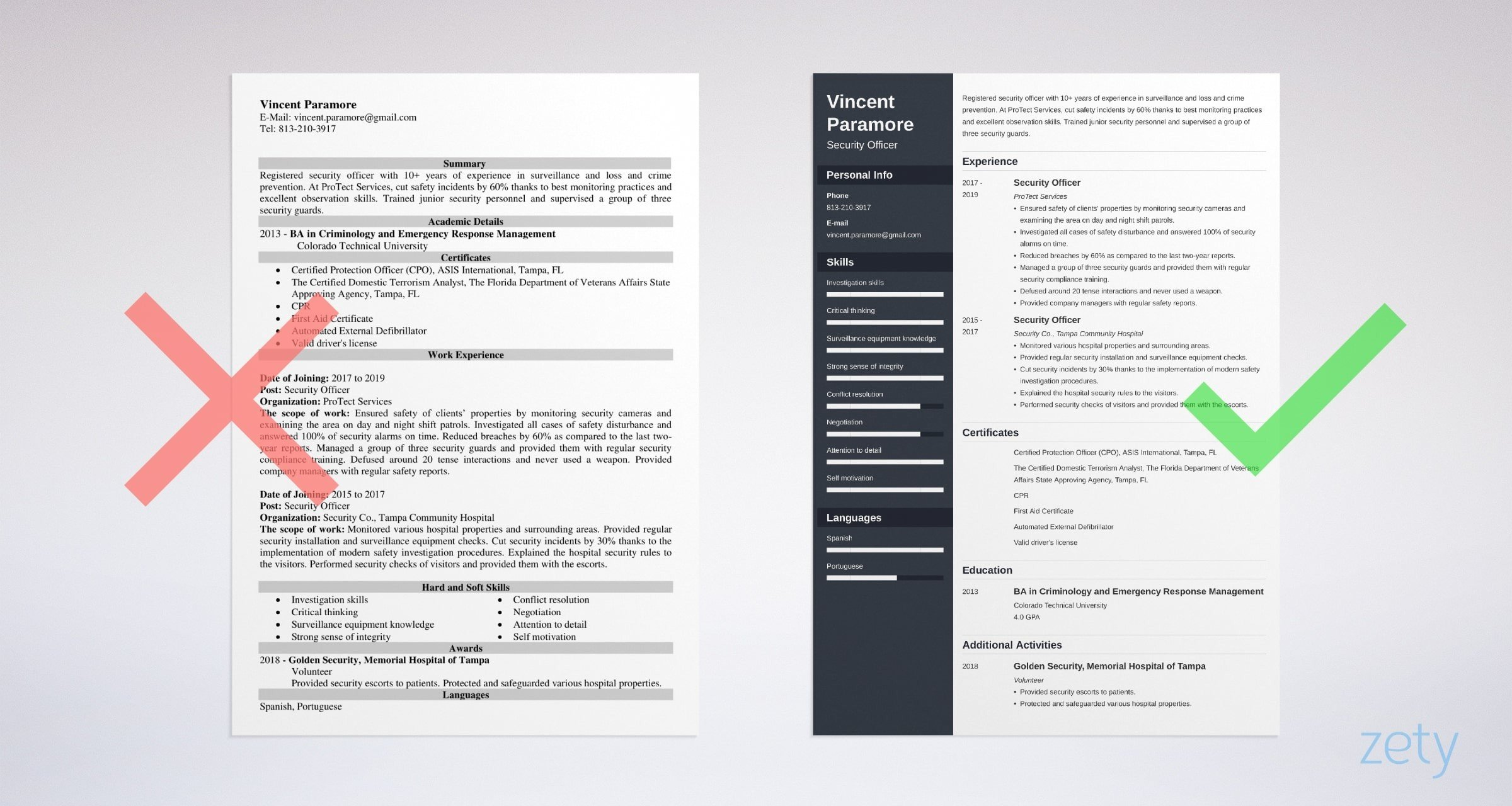 security officer resume sample guide summary for example training coordinator latest Resume Security Summary For Resume